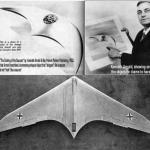 Kenneth Arnold teria visto uma nave de outro mundo ou um avião proveniente da tecnologia do IIIº Reich?