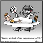 Você sabia que os ETs usam realidade virtual para examinarem humanos? (humor)