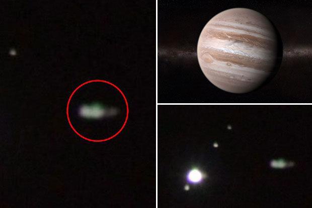 Possível nave perto de Júpiter