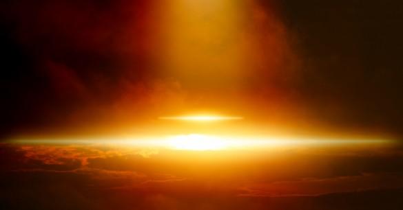 Luzes no céu