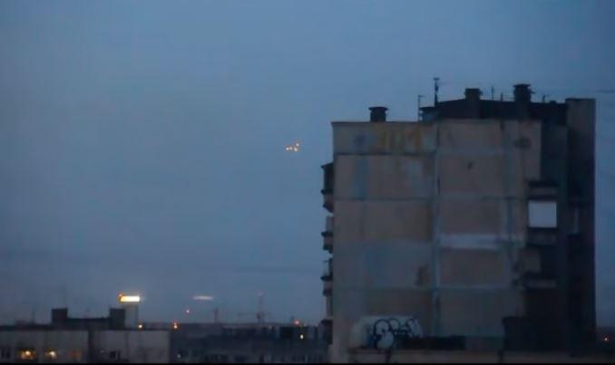 OVNI em São Petersburgo, Rússia