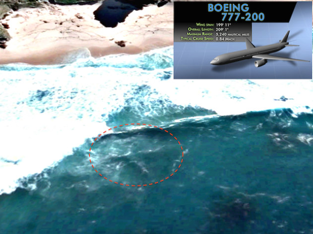 mh370 submerso