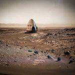 SpaceX planeja pouso em Marte, já em 2018