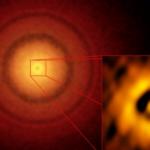 Astrônomos estão vendo uma jovem Terra se formando