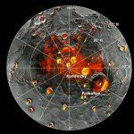 Mercúrio, o planeta mais próximo do Sol, possui água e material orgânico
