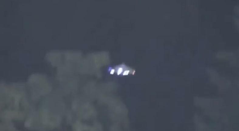 OVNI filmado perto do Estádio Nat Bailey, em Vancouver, em 4 de setembro de 2013 (YouTube)
