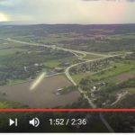 Drone filma atividade anômala no ar
