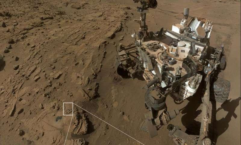 possibilidade de vida em Marte