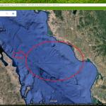 Estruturas artificiais são encontradas no fundo do mar – Google Earth