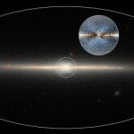 Um gigantesco 'X' marca o centro de nossa galáxia, descobriram os astrônomos