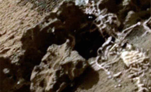 Seria este um esqueleto de um marciano da antiguidade?