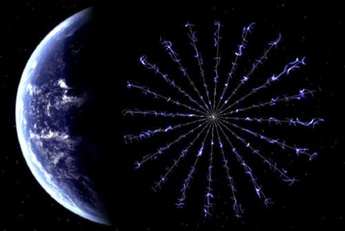 Vela solar da NASA.