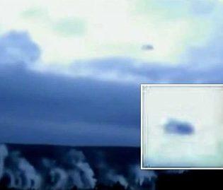 OVNIs / UFOs são filmados passando por sobre o super-vulcão do Parque Yellowstone