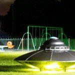 Disco voador é perseguido pela polícia, na Irlanda