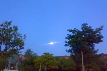 OVNI fotografado na Chapa dos Guimarães, Mato Grosso - Brasil