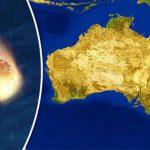 Meteoro estremece região da Austrália