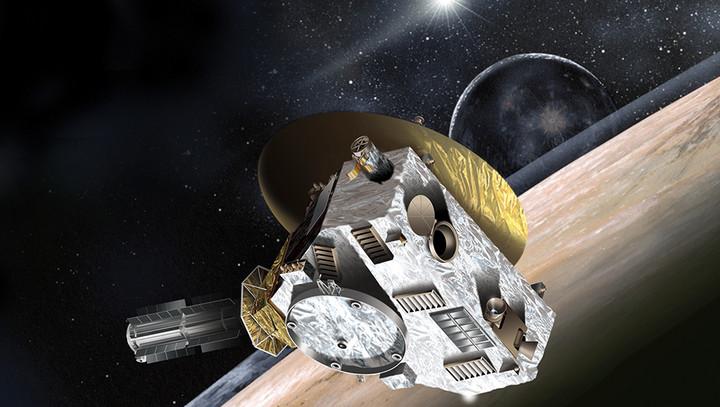 A sonda New Horizion foi enviada para a fronteira do nosso sistema solar, a fim de estudar Plutão e suas luas.