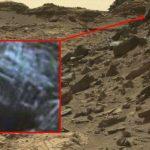 O quê?  Mais um objeto anômalo em Marte?