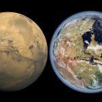 Veja como Marte era quando tinha água