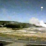 Seria o aumento de OVNIs / UFOs sobre Yellowstone um aviso de que o vulcão está para explodir?
