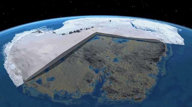 Possibili piramidi e antiche costruzioni possono essere nascosti dal ghiaccio di spessore in Antartide