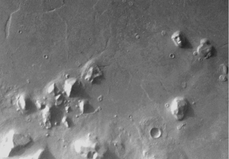 A face de Marte