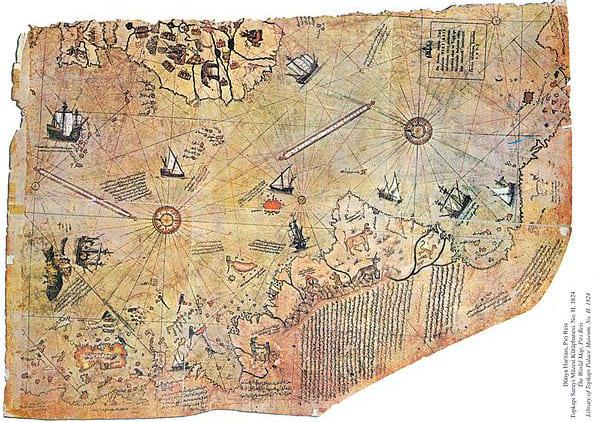 Mapa de Piri Reis