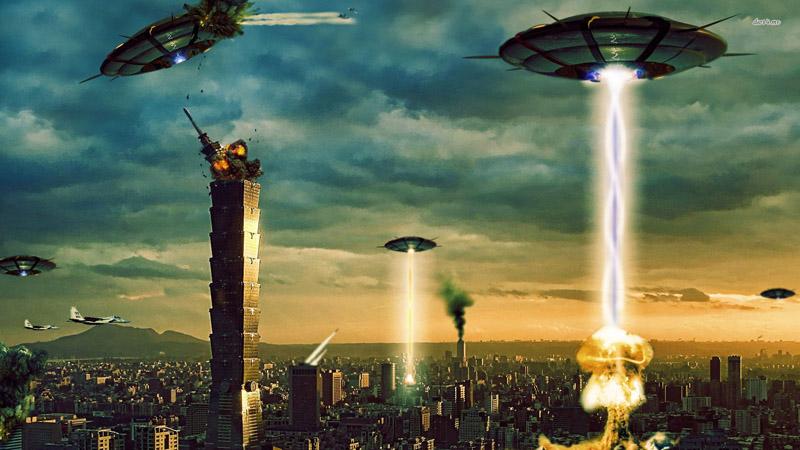 nostradamus invasão alienígena