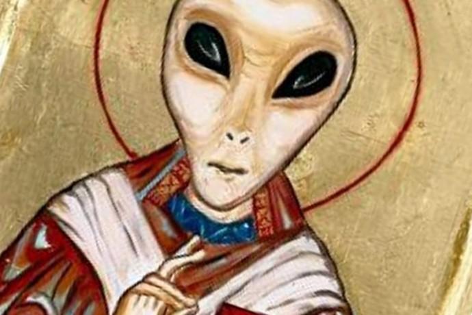 nossas religiões quando confirmarmos a vida extraterrestre