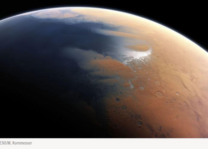 Marte habitável novamente