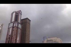 OVNI é filmado em Curitiba