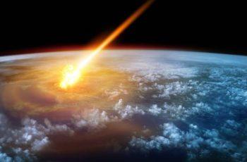 impacto de um asteroide