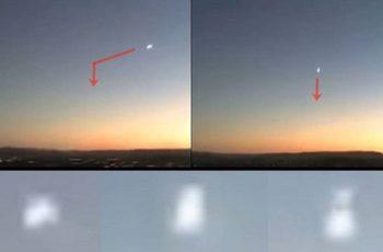 meteoro muda de direção
