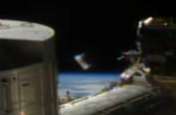 OVNI se materializa próximo da Estação Espacial Internacional