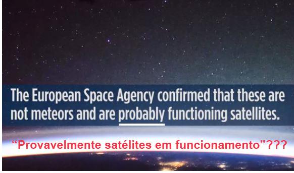 Objetos misteriosos - Agência Espacial Europeia
