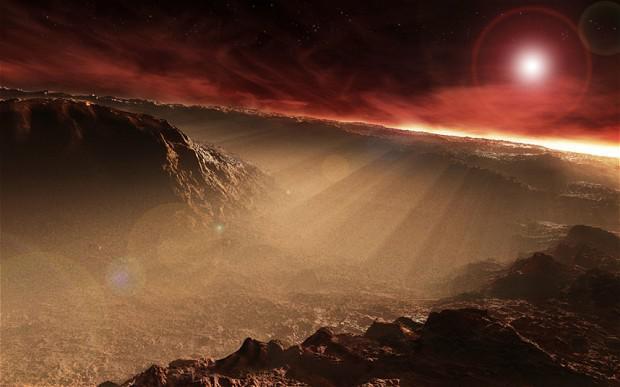 vida na Terra veio de Marte