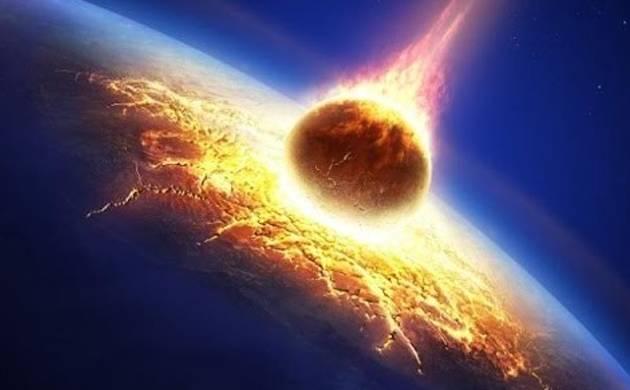 impacto de asteroide contra a Terra