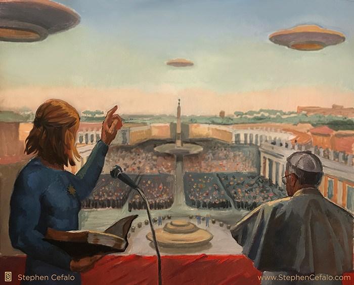 religiões mundiais desacobertamento extraterrestre