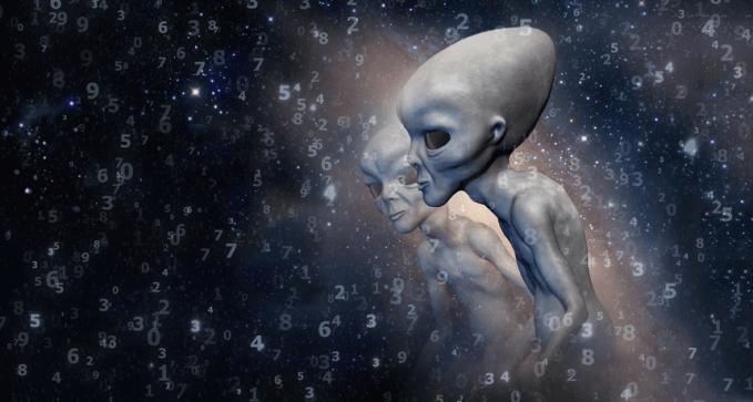 como os alienígenas nos veem