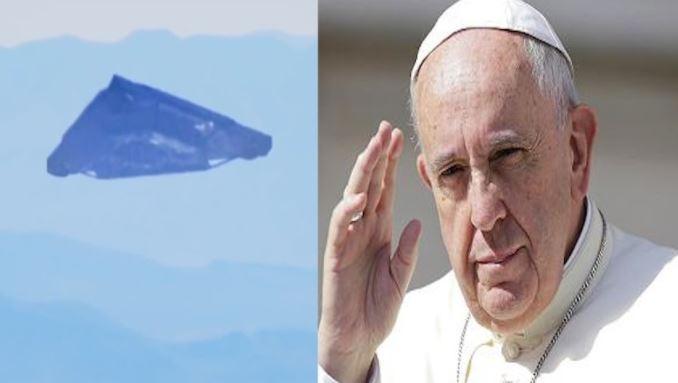 Vaticano trabalhando com a Inteligência Militar dos EUA para a revelação extraterrestre