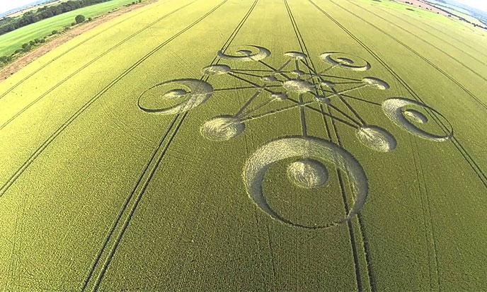 alerta sobre agroglifos