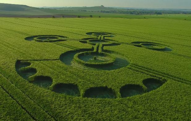 agroglifo em Whiltshire
