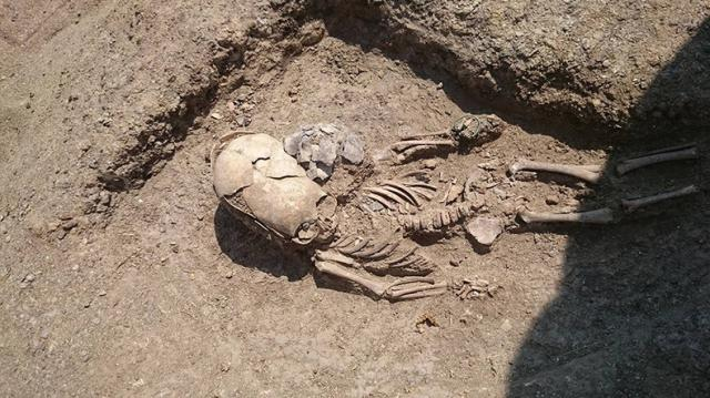 crânio alongado é descoberto na Crimeia