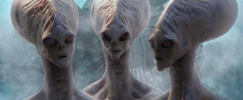 Invasão alienígena falsa