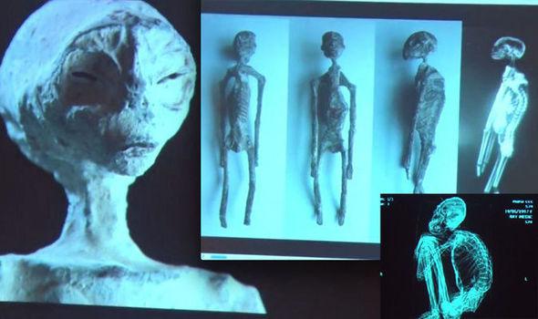 supostas múmias alienígenas