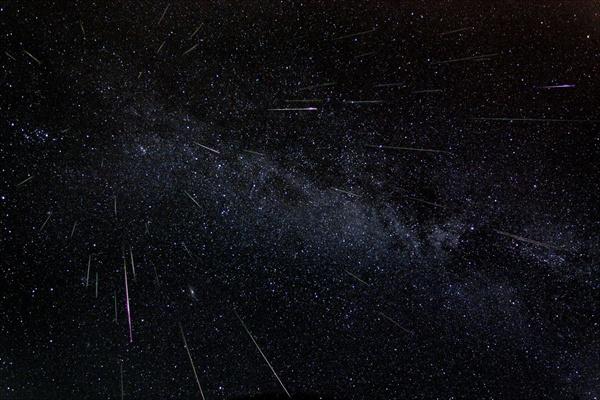chuva de meteoros mais intensa da história humana