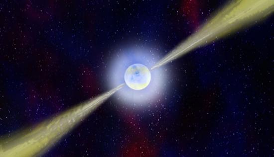 Pulsares sistema de posicionamento galáctico de ETs