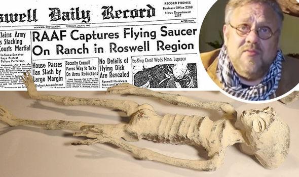 conexão entre tumba de Nazca e Roswell