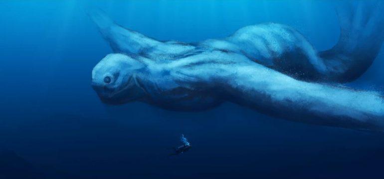 Humanoides subaquáticos gigantes