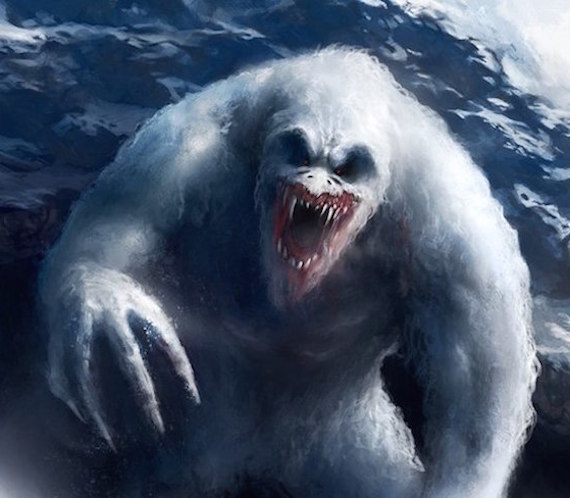 nazistas antártica e bigfoot